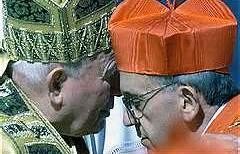 Pope Francis and Pope John PaulII