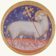 THE LAMB SYMBOL OF HE PRECIOUS BLOOD