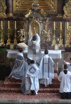eucharist our sanctification