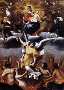 ROSARY AND SOULS IN PURGATORY