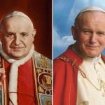pOPE jOHN pAUL II AND pOPE jOHN XXIII