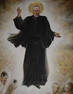 Painting of the Picture of St. Annibale in Heaven