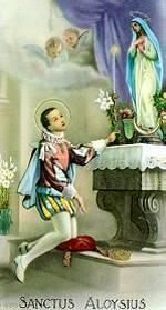 St. Aloysius Gonzaga Picture